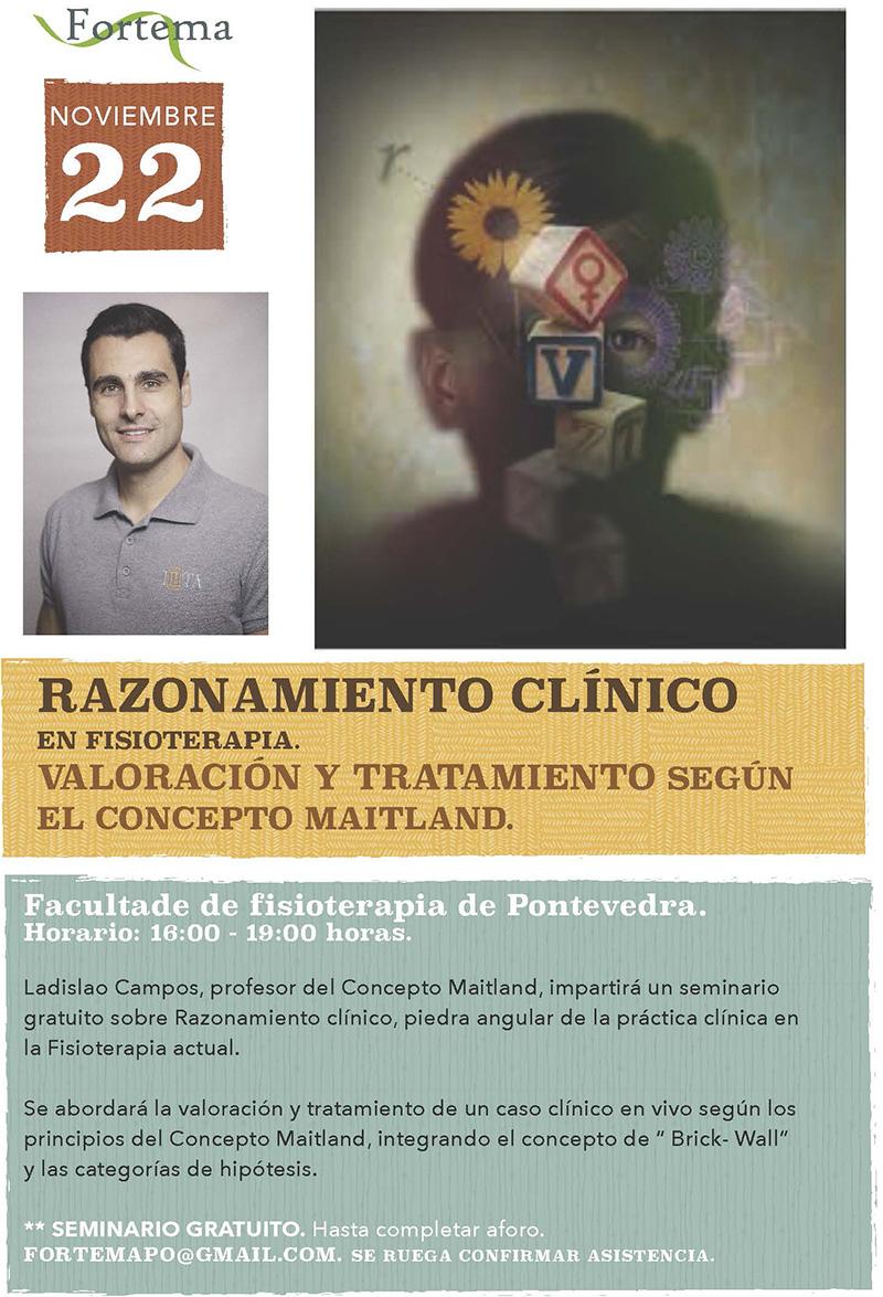 Seminario de razoamento clínico en fisioterapia